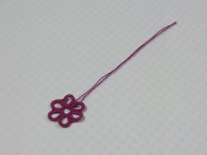 タティングレースのお花