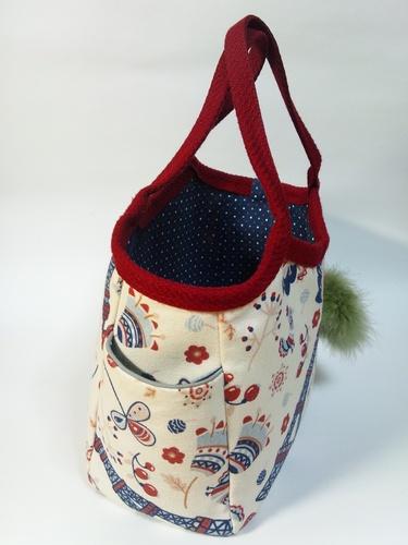 鎌倉スワニー手作りバッグ